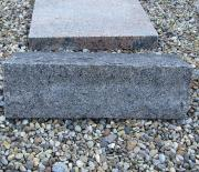 Blå rønne brændt - 50x15 cm. Pris 2500 kr