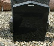 Sort svensk poleret 36 x 78cm Pris 6200 kr