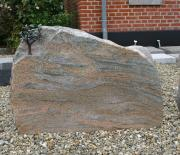 Halmstad brændt med bronze træ 78 x 57 cm Pris 7975 kr