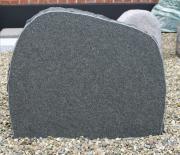 Sort svensk (skovsten) brændt 67 x 53 cm Pris 6200 kr