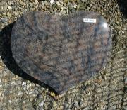 Halmstad poleret hjerte 40 x 30 cm Pris 2950 kr