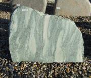 Masigrøn med savet forside - 55x42 cm. Pris 3875kr