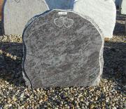 Poleret orion med rå kant - 47x45 cm. Pris 3950kr