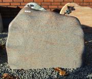 Halmstad brændt med poleret kant - 83x62 cm. Pris 7950kr
