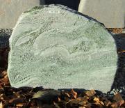 Masi grøn - 58x47 cm. Pris 3900kr